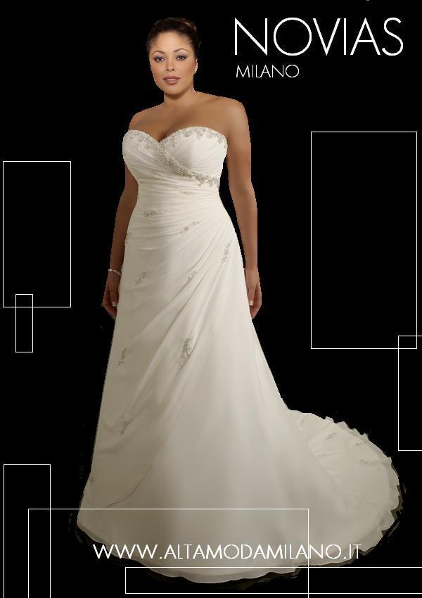Alla sposa che veste una taglia comoda abiti da sposa in taglie morbide  calibrate e conformate comode spose in elegantissimi abiti sposa non  fascianti d08ed50328c