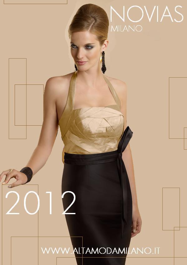 Abiti da cerimonia NOVIAS Milano collezioni abiti donna eleganti 2012 9afa6b965a5